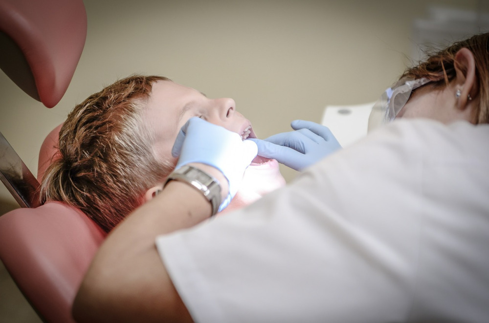 Primera visita la dentista Begoña Landaluce