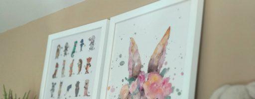 El poder de una pared – Colaboración Posterlounge